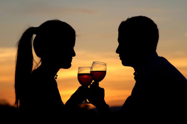 Wine for romance