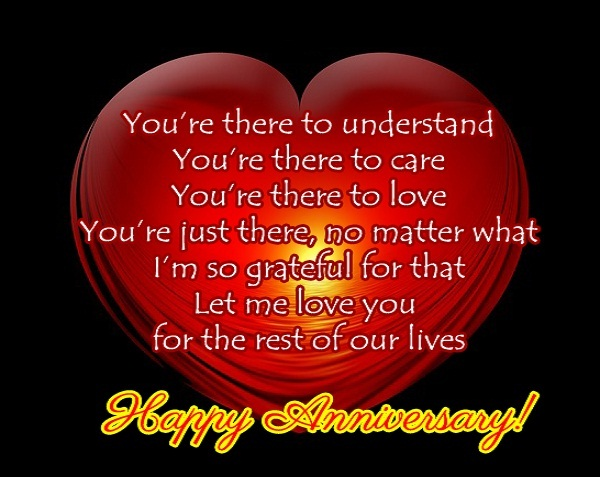 best anniversary wordings